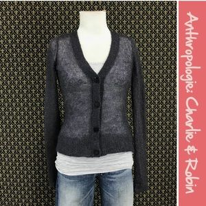 """Anthro """"The Airy Sparkle Cardigan"""" Charlie Robin"""